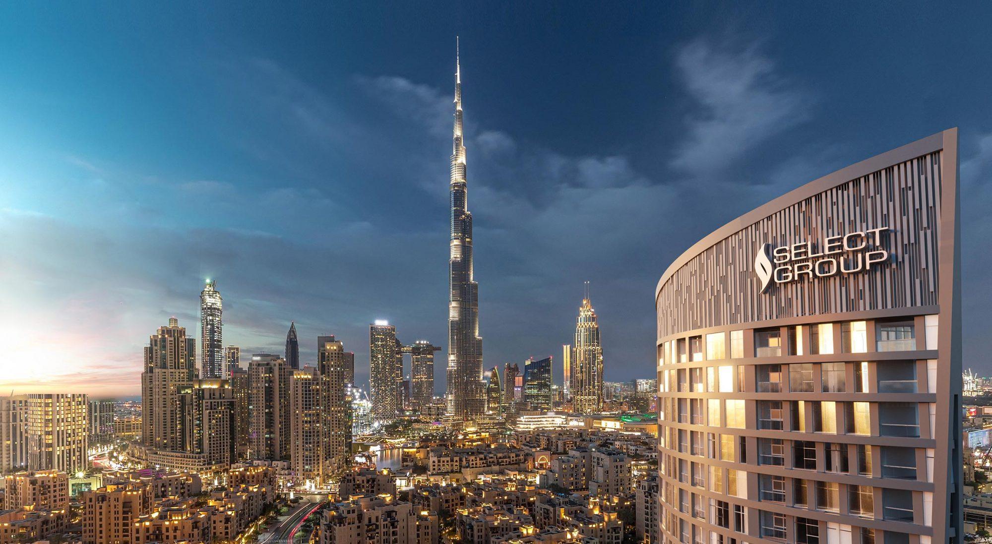 Panoramic Views of The Burj Khalifa