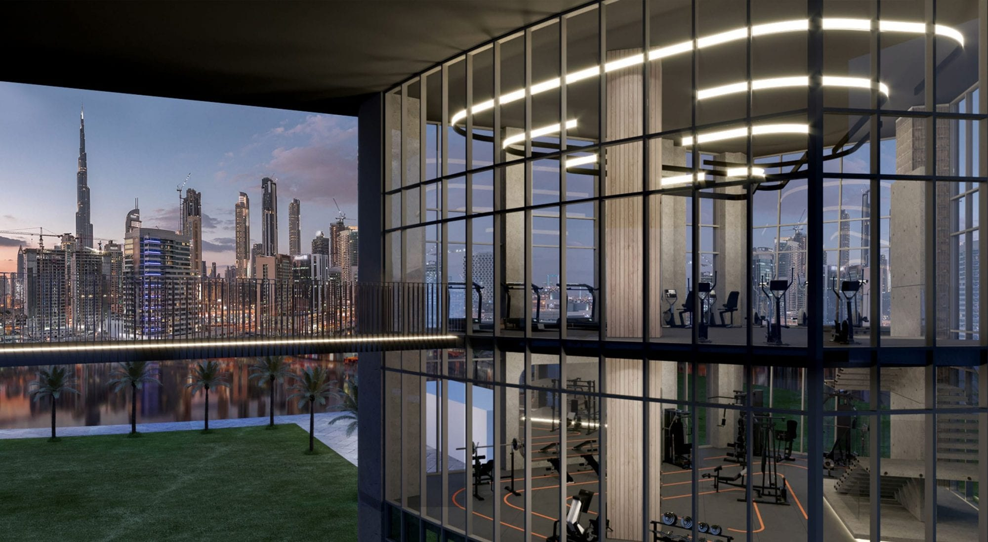 State-of-the-art Gymnasium with 360 Views