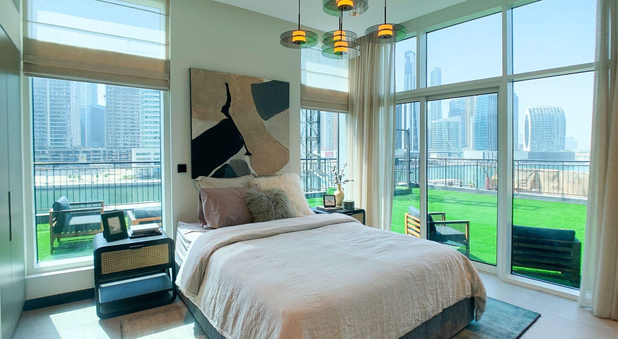 Brightly Lit Bedroom