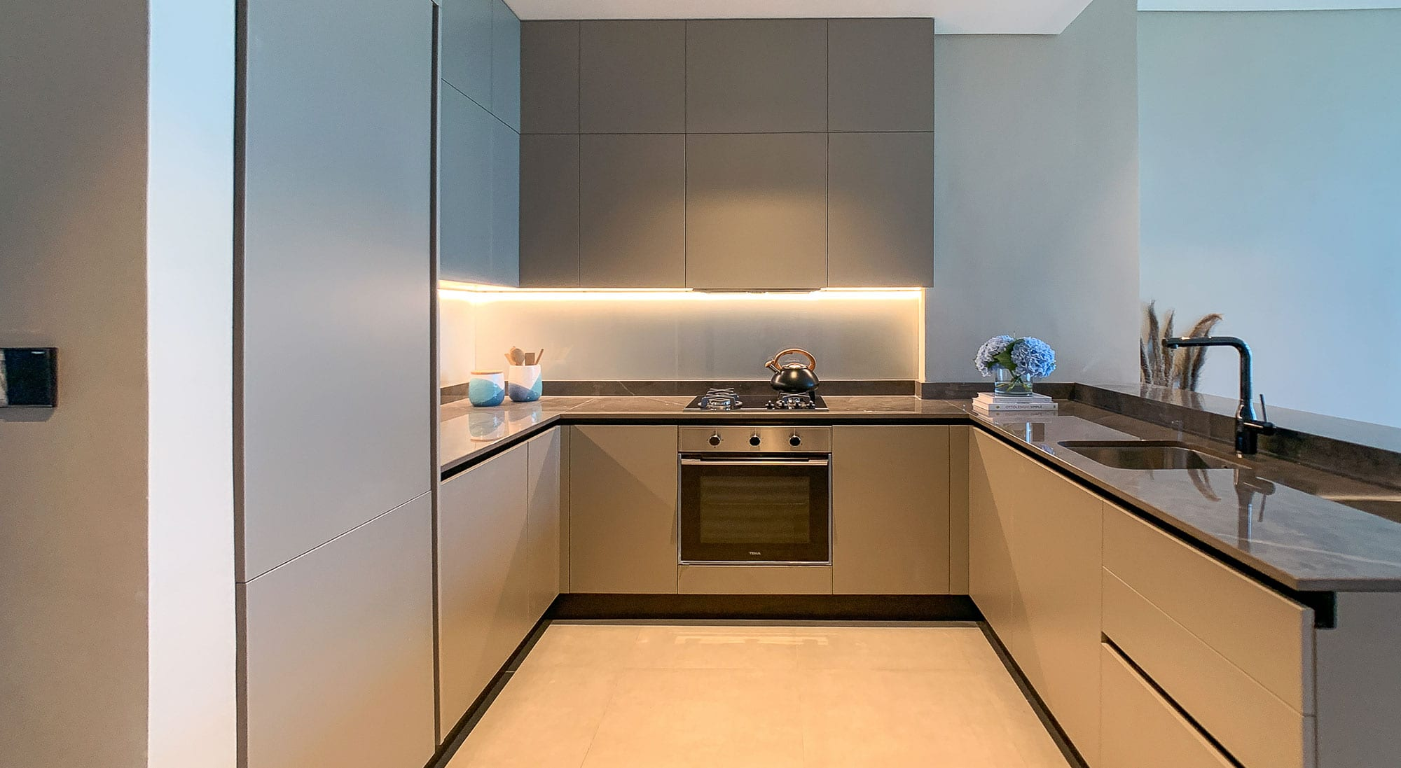 Well-Equipped Kitchen Spaces
